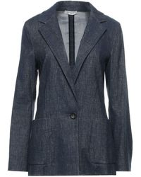 Cappellini By Peserico Suit Jacket - Blue