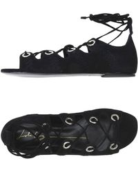 Lola Cruz Sandals - Black