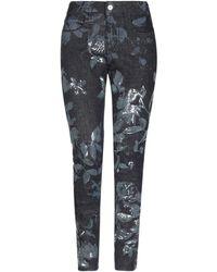 Blumarine Pantalon en jean - Noir