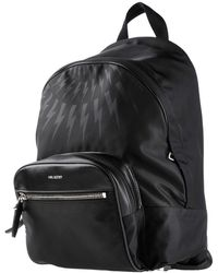 Neil Barrett Backpacks & Fanny Packs - Black