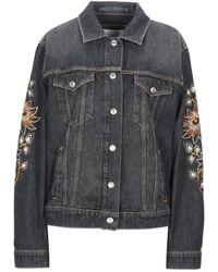 KENZO Denim Outerwear - Black