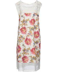 Péro Midi Dress - White
