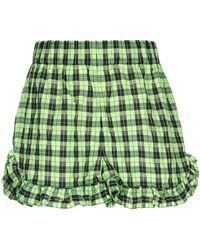 Ganni Shorts - Green