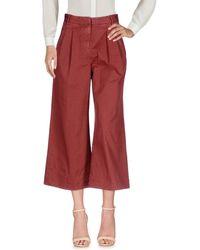 Boglioli Pantalone - Rosso