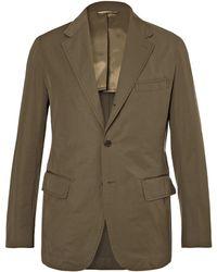Camoshita Suit Jacket - Green
