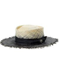 Gladys Tamez Millinery Hat - Black