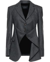 Cedric Charlier Suit Jacket - Gray