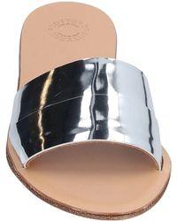 Buttero Sandals - Metallic