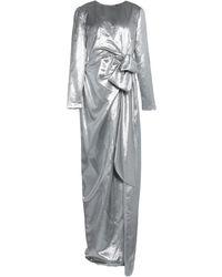 Paule Ka Robe longue - Métallisé