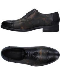 A.Testoni Lace-up Shoe - Black