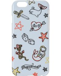 DSquared² - Printed Iphone 6 - Lyst