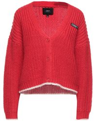Obey Cardigan - Red