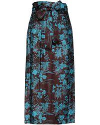 813 Ottotredici Midi Skirt - Multicolour