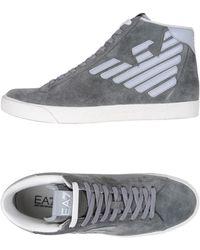 EA7 Sneakers & Tennis shoes alte - Grigio