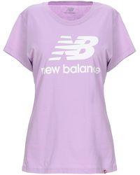 New Balance T-shirt - Purple