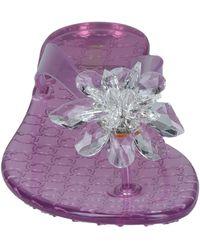 Le Silla Toe Strap Sandals - Pink