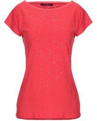 Les Copains T-shirt - Red