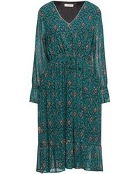 MEISÏE Midi Dress - Green