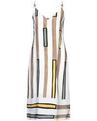 Anonyme Designers Knee-length Dress - White
