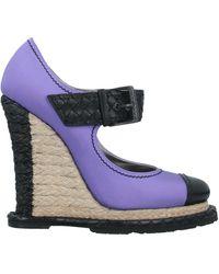 Bottega Veneta Court - Purple