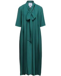 Erika Cavallini Semi Couture Midi Dress - Green