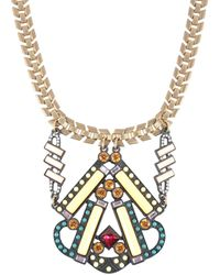 Lulu Frost Necklace - Yellow