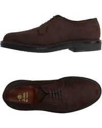 Alden Lace-up Shoe - Brown