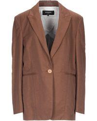 Rochas Suit Jacket - Brown