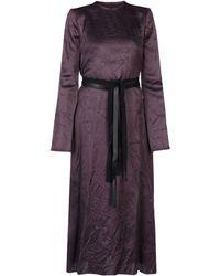 Maison Margiela 3/4 Length Dress - Purple