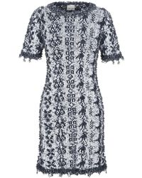 VIKI-AND Short Dress - Blue