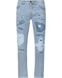 Diesel Black Gold Pantalon en jean - Bleu