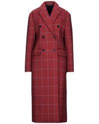 MSGM Coat - Red