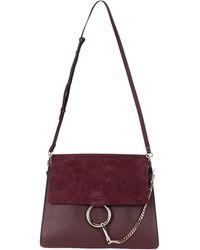 Chloé Cross-body Bag - Purple