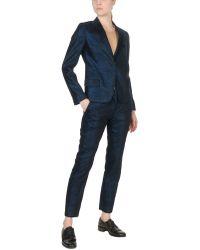 Aspesi Women's Suit - Blue