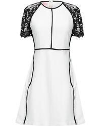 Giamba Short Dress - White