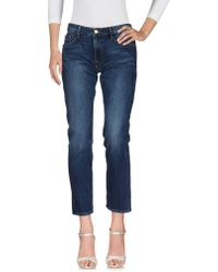 FRAME - Pantaloni jeans - Lyst