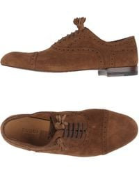 Gucci Lace-up Shoe - Brown