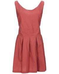 Eleventy Short Dress - Red