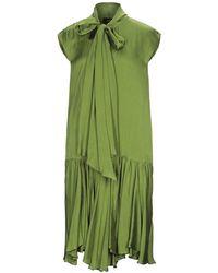 Rochas Vestido por la rodilla - Verde