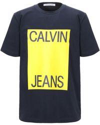 Calvin Klein Camiseta - Azul
