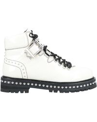 Lola Cruz Ankle Boots - White