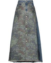 DIESEL Denim Skirt - Grey