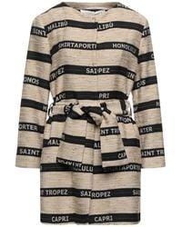 Shirtaporter Overcoat - Multicolor