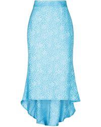Filles A Papa Midi Skirt - Blue