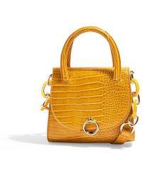 TOPSHOP Cross-body Bag - Yellow