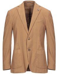 Lardini Suit Jacket - Natural