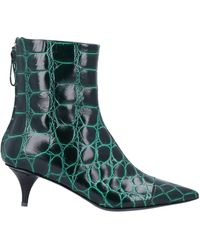 Amen Ankle Boots - Green
