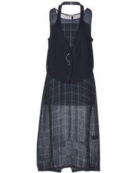 Crea Concept 3/4 Length Dress - Blue