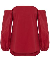 Theory Blouse - Red
