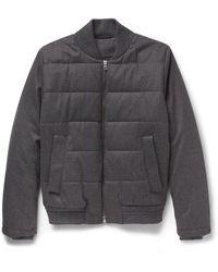 Façonnable Down Jacket - Grey